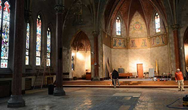 New York'un tarihi kilisesi artık İsa bin Meryem Camii