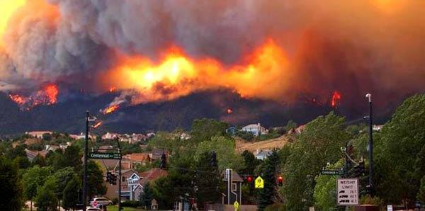 ABD'de bir haftadır ormanlar yanıyor