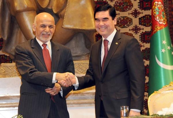 Türkmen lider Berdimuhamedov, Kabil'de