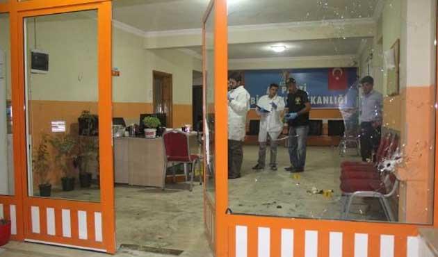 Şanlıurfa'da AK Parti binasına bombalı saldırı