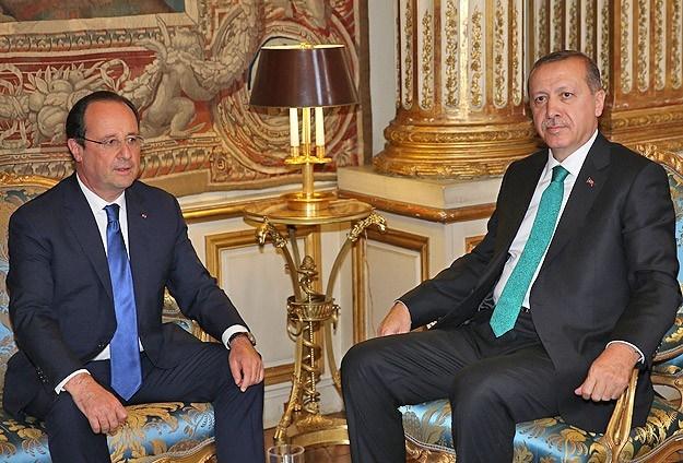 Hollande'dan Erdoğan'a telefon