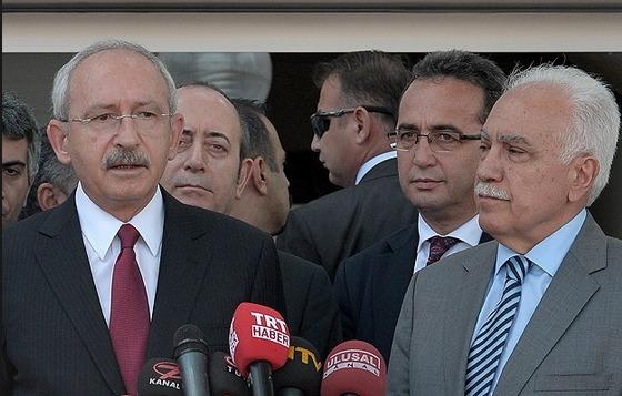 Kılıçdaroğlu, İstanbul'da Perinçek'le görüştü