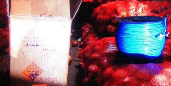 Şanlıurfa'da TIR'da 5,5 ton patlayıcı
