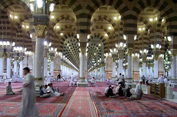 Medine'de Cuma Namazı