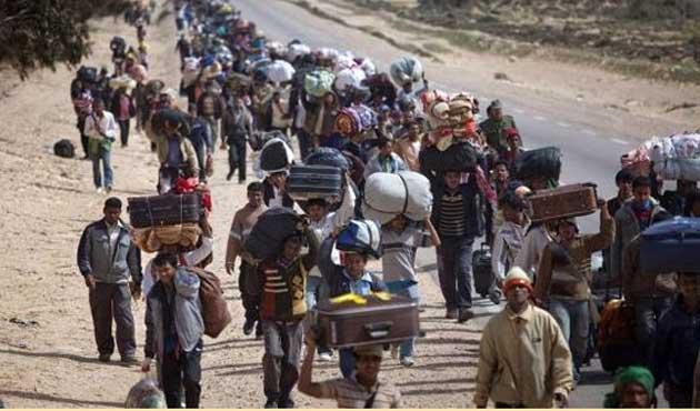Irak'tan Arap Birliği'ne göçmen eleştirisi