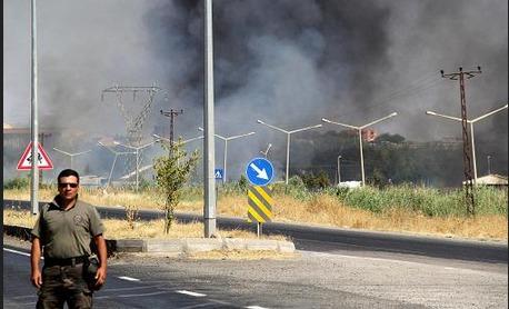 Diyarbakır'da mühimmat deposunda patlama