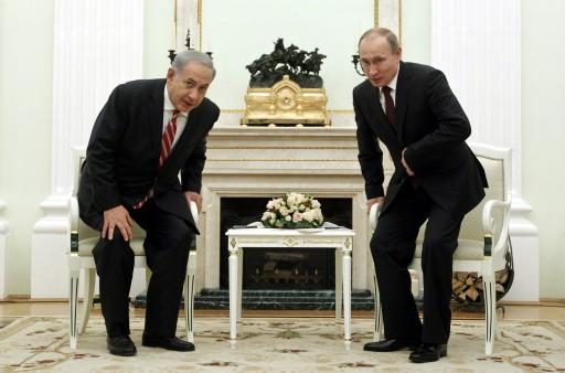 Netanyahu, Suriye için Putin'le görüşmeye gidiyor