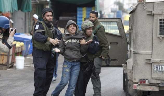 İşgal güçleri Kudüs'te çocukları gözaltına aldı