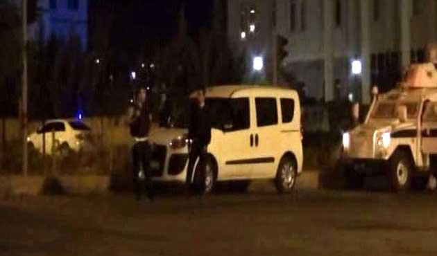 Bingöl'de zırhlı araca roketli saldırı
