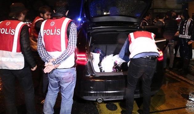 İstanbul'da 4 bin 700 polisle operasyon