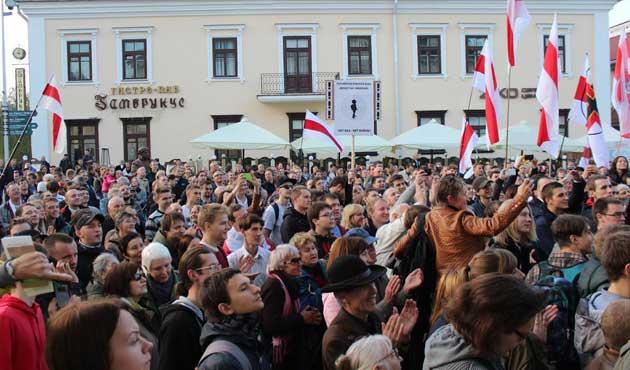 Belarus'ta muhalefet Rus üssüne karşı