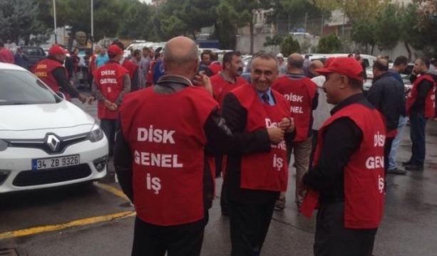 CHP'li belediyenin taşeron işçileri eylemde