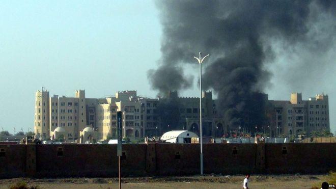 Yemen Başbakanının kaldığı otele roketli saldırı