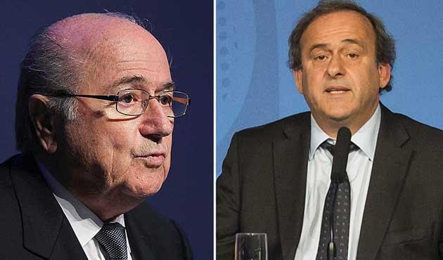Yolsuzluk iddiaları Blatter ve Platini'ye ceza getirdi