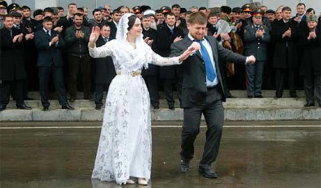 Çeçenistan'da düğünlerde alkol ve silaha yasak