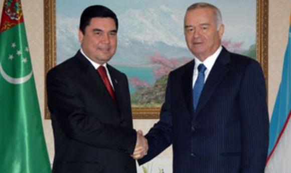 Türkmen ve Özbek liderler 'santraller'de uzlaştı