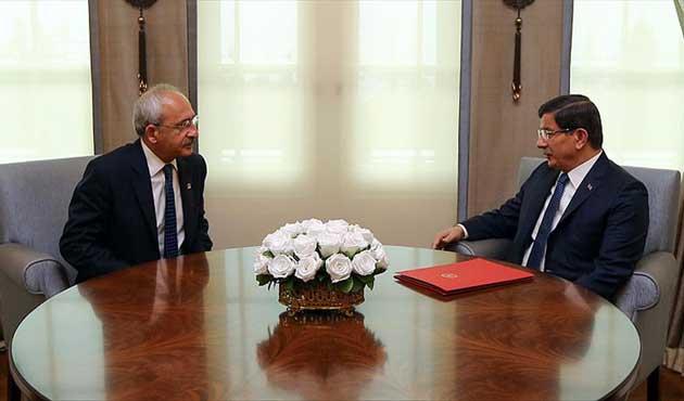 Kılıçdaroğlu, Davutoğlu'na örgüt ismi vermiş