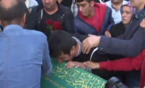 Cenaze töreninde PKK ve HDP'ye tepki