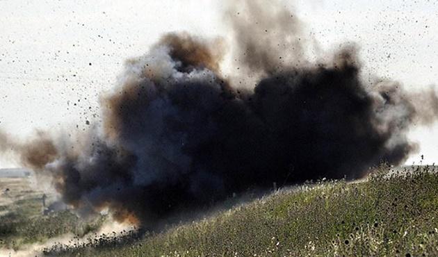 Lübnan 'da mühimmat yüklü araç imha edildi