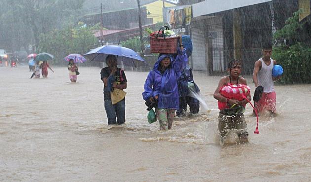 Çin'deki tayfun: 28 ölü