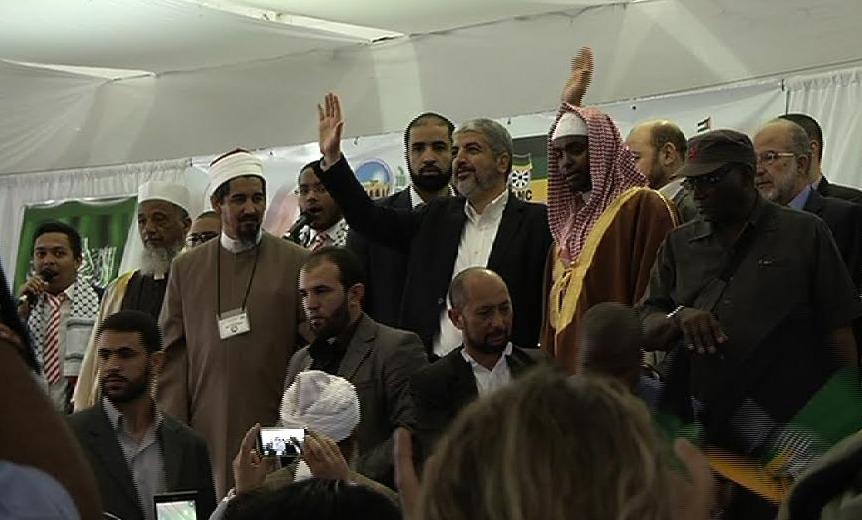 Meşal, Cape Town'da Filistin'e destek istedi