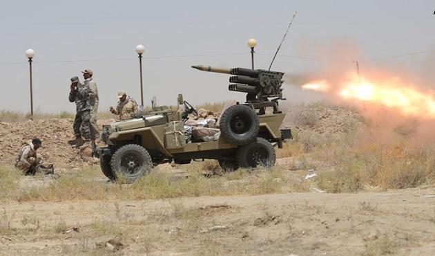 Irak güçleri Felluce'de IŞİD'e karşı ilerliyor