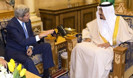 Kerry ve Kral Selman Suriye ve Kudüs'ü görüştü