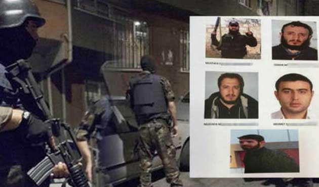 İstanbul'da IŞİD operasyonunda beş gözaltı
