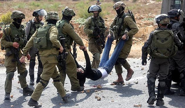 İsrail Filistinlileri gözünü kırpmadan vuruyor
