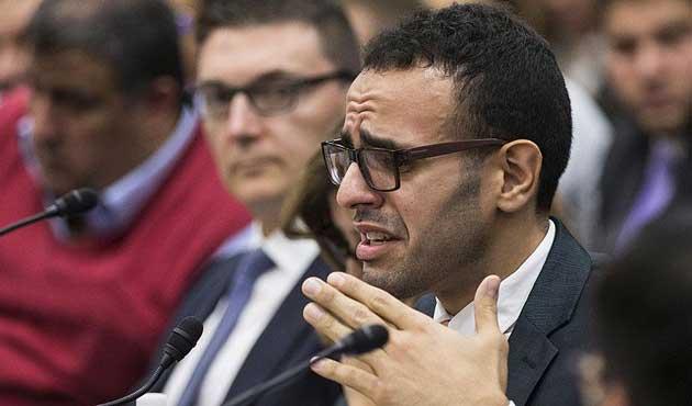 Mısırlı aktivist ABD Kongresi'nde konuştu