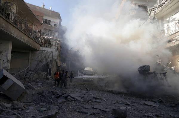 Suriye'de hardal gazı kullanıldığı belgelendi