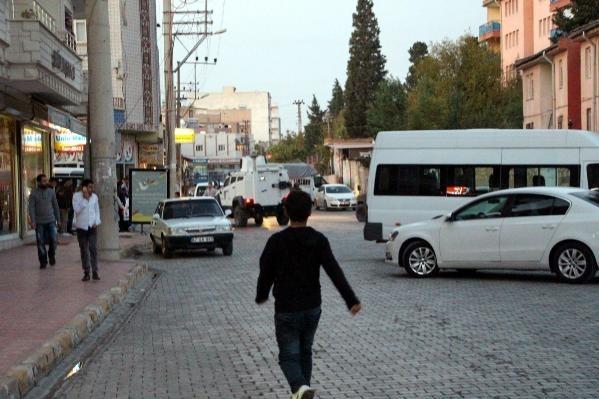 Mardin'de zırhlı polis aracına bombalı saldırı