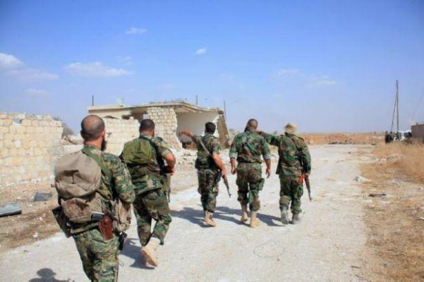 Esad birlikleri Halep'e ilerliyor