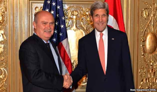 Kerry ve Sinirlioğlu'nun gündemi IŞİD