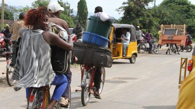 Burundi'de hareketli pazar