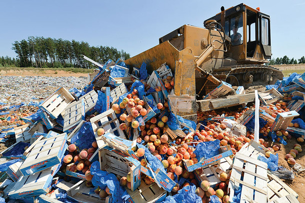Rusya'dan Ukrayna'ya gıda ambargosu