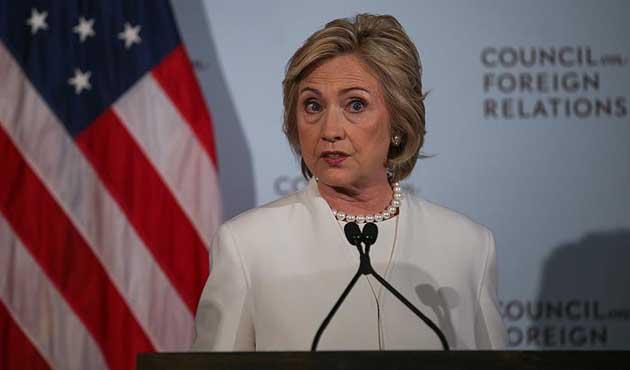 Clinton'dan uçuşa yasak bölge çağrısı