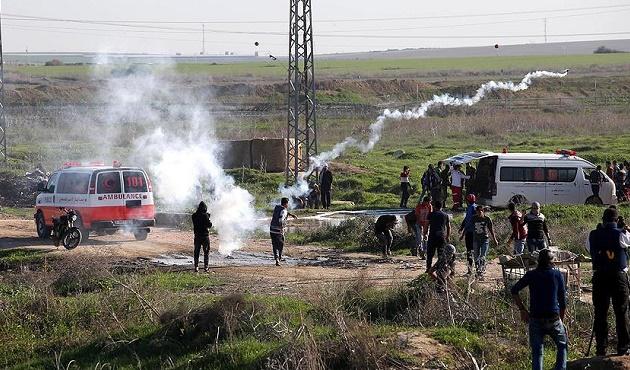 Gazze'ye saldırı; bir ölü 21 yaralı