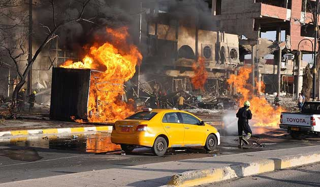 Bağdat'taki patlamalarda yedi ölü