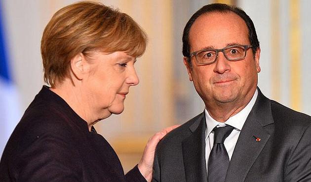 Hollande: 'Almanya IŞİD'le mücadelede daha etkin olmalı'
