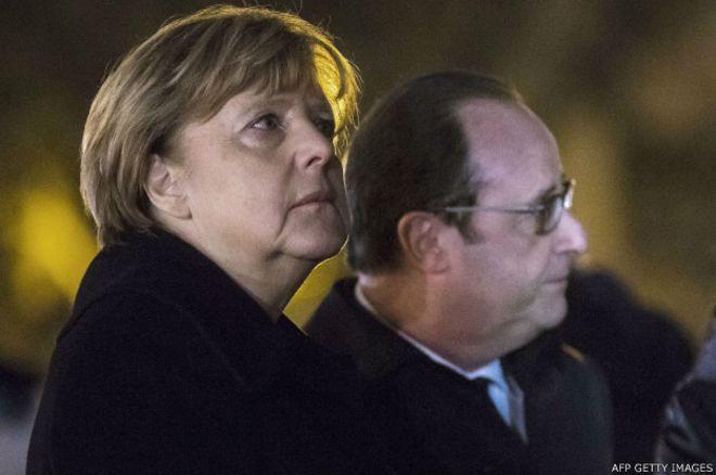 Merkel ve Hollande'dan gayrıresmi toplantı