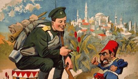 Ruslar'dan tarihini unutan Türkler'e karikatürlü hatırlatma