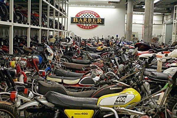 Orada motosiklet müzesi var