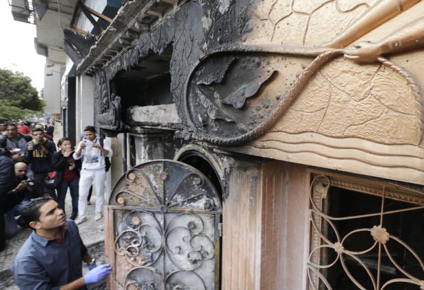 Kahire'de molotoflu saldırı: 16 ölü