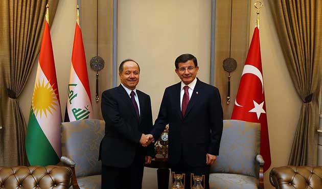 Barzani'den Ankara'da yoğun temaslar