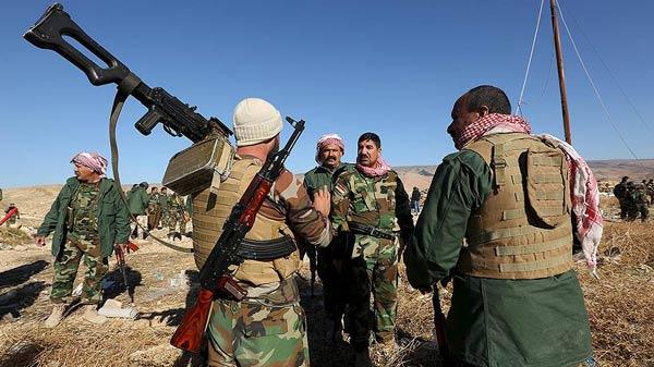 Almanya, Kürt yönetimine silahları sordu