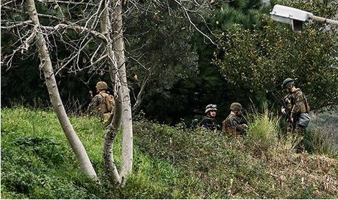 ABD askeri İstanbul'da bahçeye indi