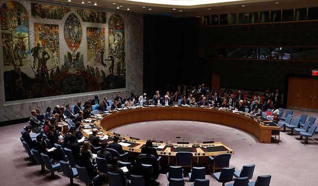 Rusya'nın BMGK'ya önerisine veto