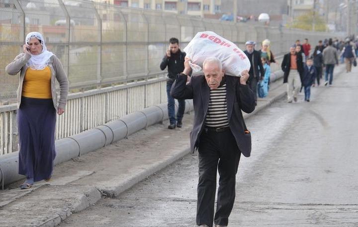 PKK mağduru vatandaşlara yardım