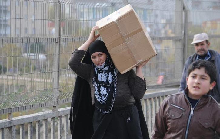 Halk Cizre ve Silopi'yi terk ediyor | FOTO